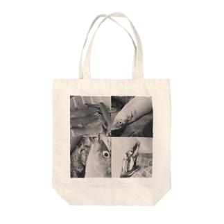 コノシロ Tote bags