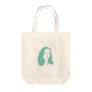 しろめ女子 #05 Tote bags