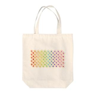 カラフルな目玉焼き Tote bags