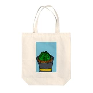 Euphorbia Tote bags