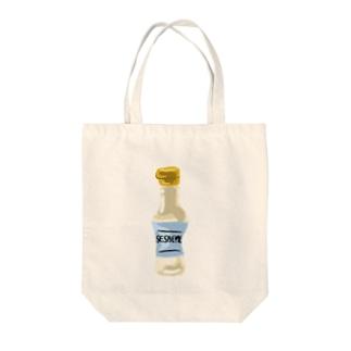セサミオイル Tote bags