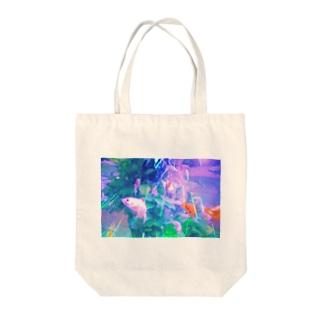 goldenfish Tote bags