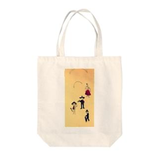 ホネホネロック(メキシカンスカル) Tote bags