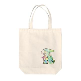 ドラゴドール Tote bags