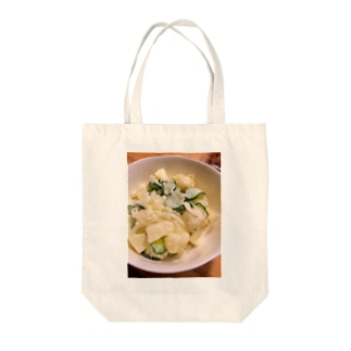potato salad Tote bags