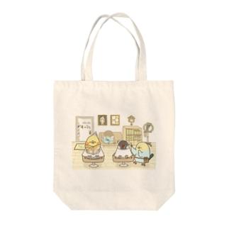 バーバーバード Tote bags