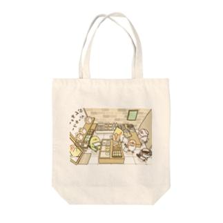 ぶんちょーベーカリー Tote bags
