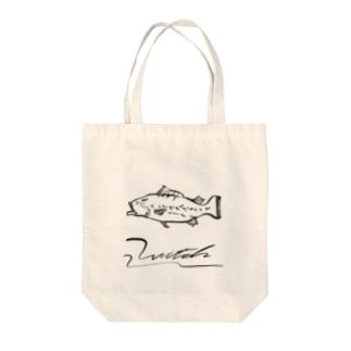 スポニングエリア Tote bags