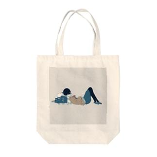スイミン Tote bags