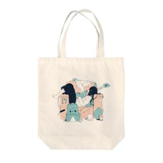 スイミン2 Tote bags