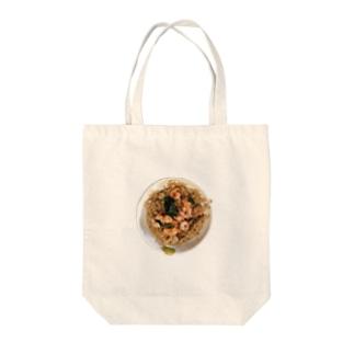 蝦仁飯 Tote bags