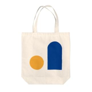 ただの図形 Tote bags