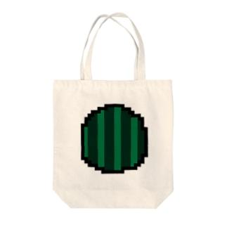 絶品スイカアイコン Tote bags