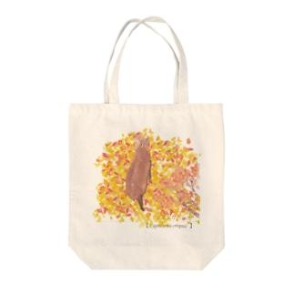 ニホンカモシカ Tote bags