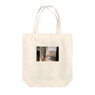 elbow forest Tote bags