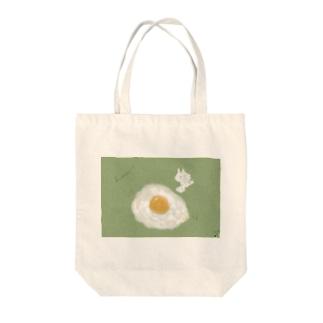おいしい朝食 Tote bags