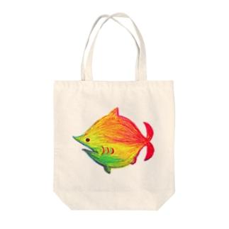 劇団鮫軟骨トートバック(ver.ゆもとちえみ) Tote bags