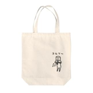 虚無僧 Tote bags