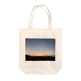 matsunomiの日が沈んだ Tote bags