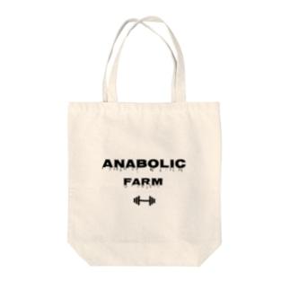 ANABOLIC FARM Tote bags