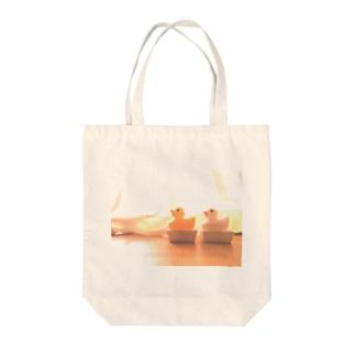 昔懐かしいガーコちゃん Tote bags