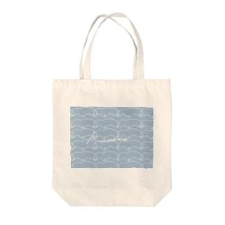 カモメ Tote bags