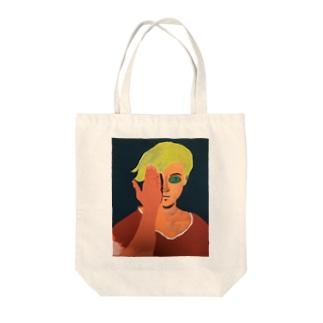 魂 Tote bags