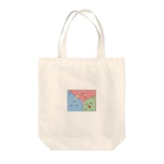 人間ドラマを美しくする人間関係相関図縮図(リブラの章) Tote bags