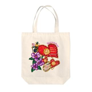 「花籠」Series * Birth11 November Tote bags