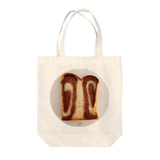 うずまきパンだよ Tote bags