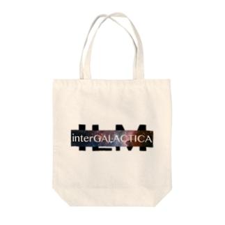 interGALACTICA Tote bags
