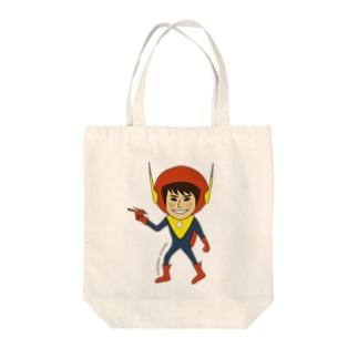 エスパー Tote bags