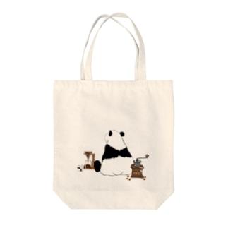 ドリップ待ちのパンダ🐼 Tote Bag