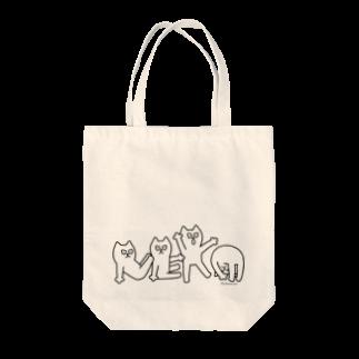 しろねこトーフのNEKO BAG トートバッグ