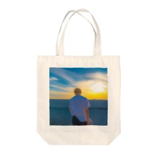 ジミンちゃん Tote bags