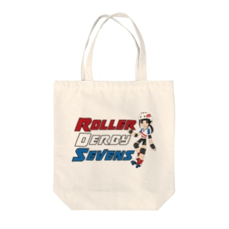 Roller Derby Sevens Tote bags