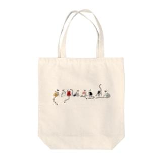 かばんワオキツネザル Tote bags
