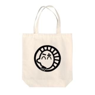 もひかんぱぱ Tote bags