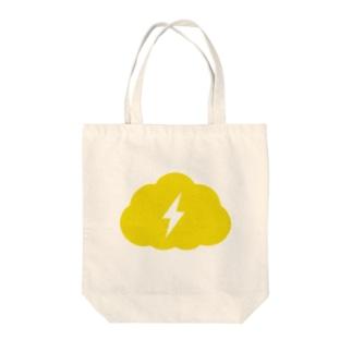 Thundercloud Tote bags