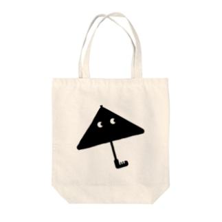 飛んでいった傘 Tote bags