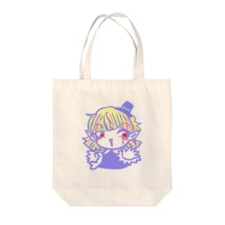 【おちゃめな天使】ソネット【オリジナル】 Tote bags