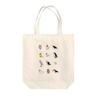 CHUNバーズ Tote bags