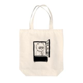出発モグァンプ~家電エンブレム~ Tote bags