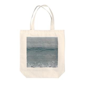 粗い海トート Tote bags