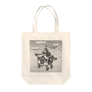 Flying Bill Tote bags