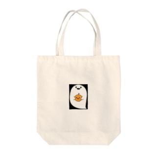 ハロウィンおばけ Tote bags