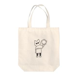 タンバリンシティニャンコ Tote bags