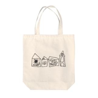 おうち達 Tote bags