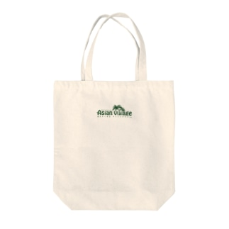 Asian Villageシリーズ Tote bags