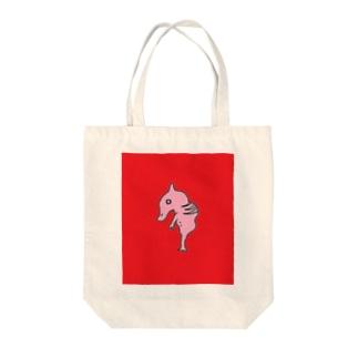 モンスターの胎児 Tote bags